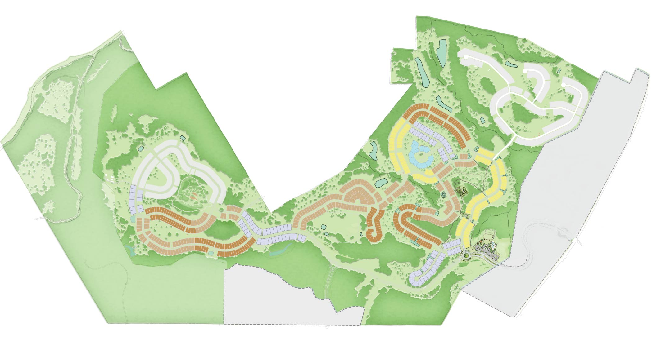 Headwaters site plan illustrative graphic