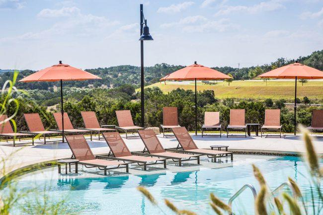 Resort-Style Split-Level Pool