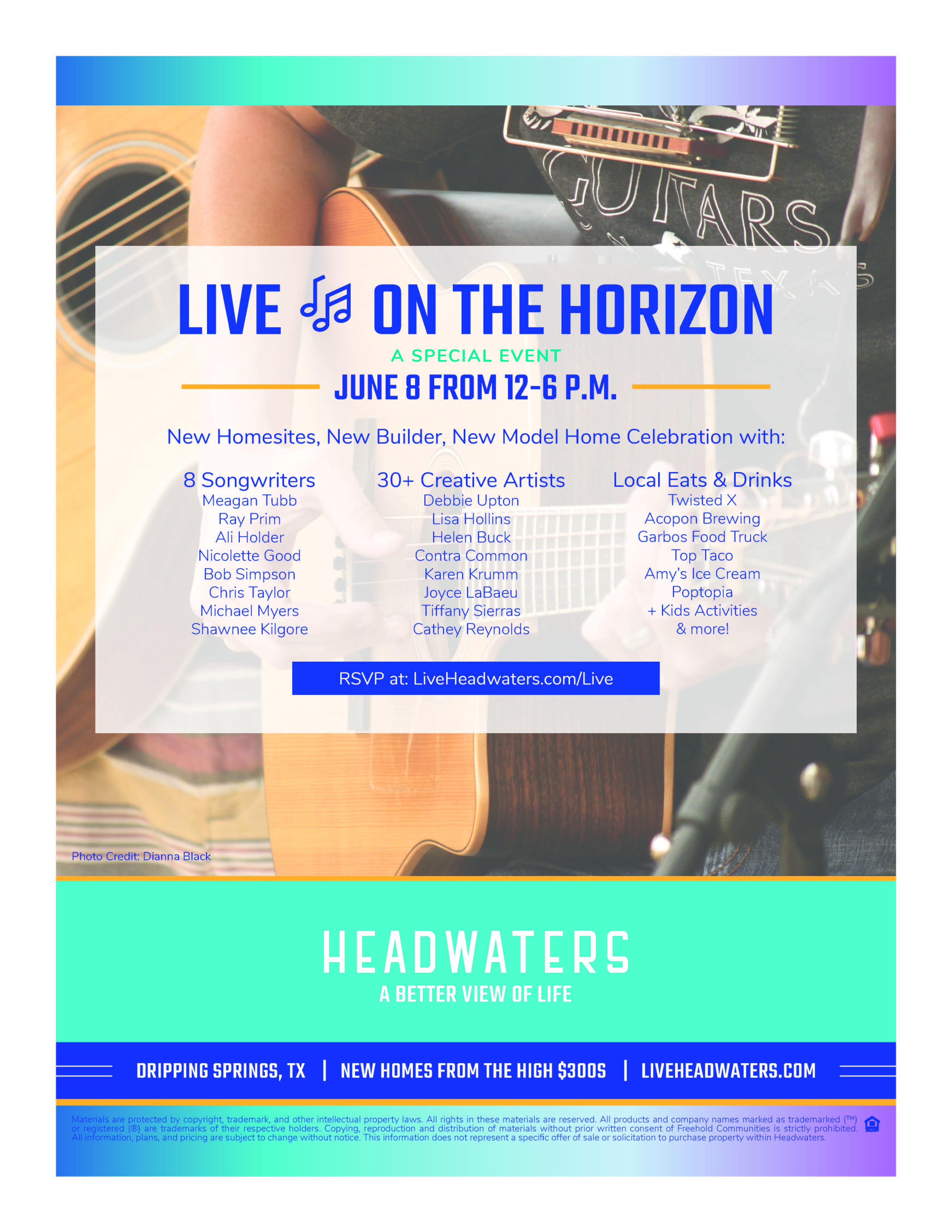 Live on the Horizon