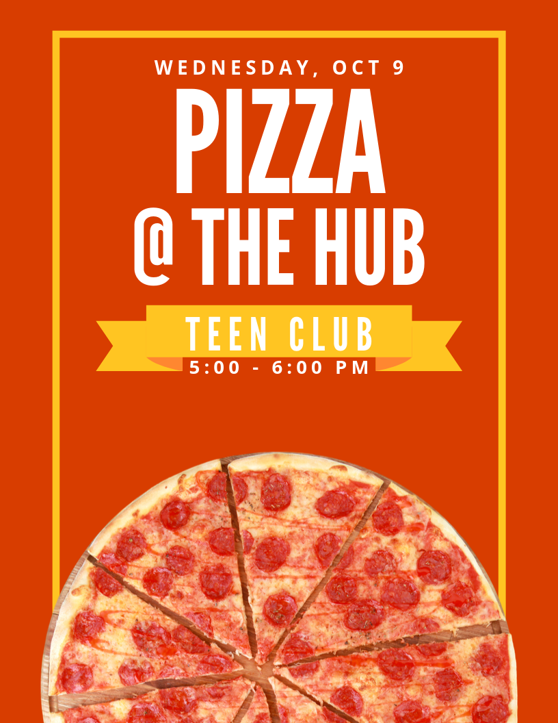 Pizza teen club